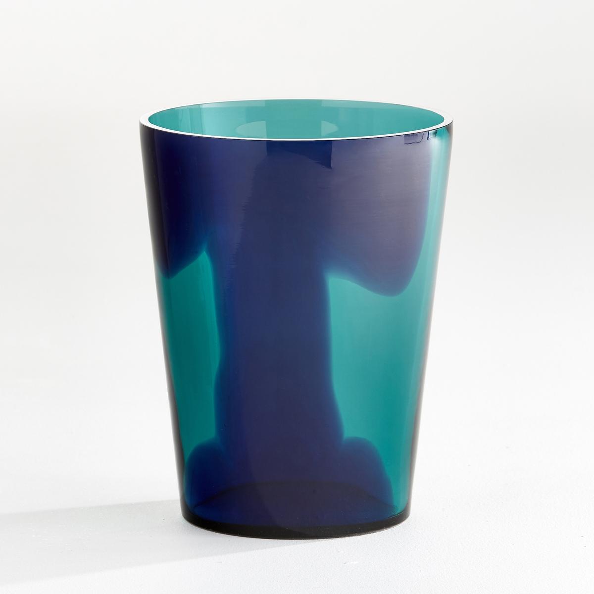 Ваза, Odomar<br><br>Цвет: зеленый/ синий,янтарь