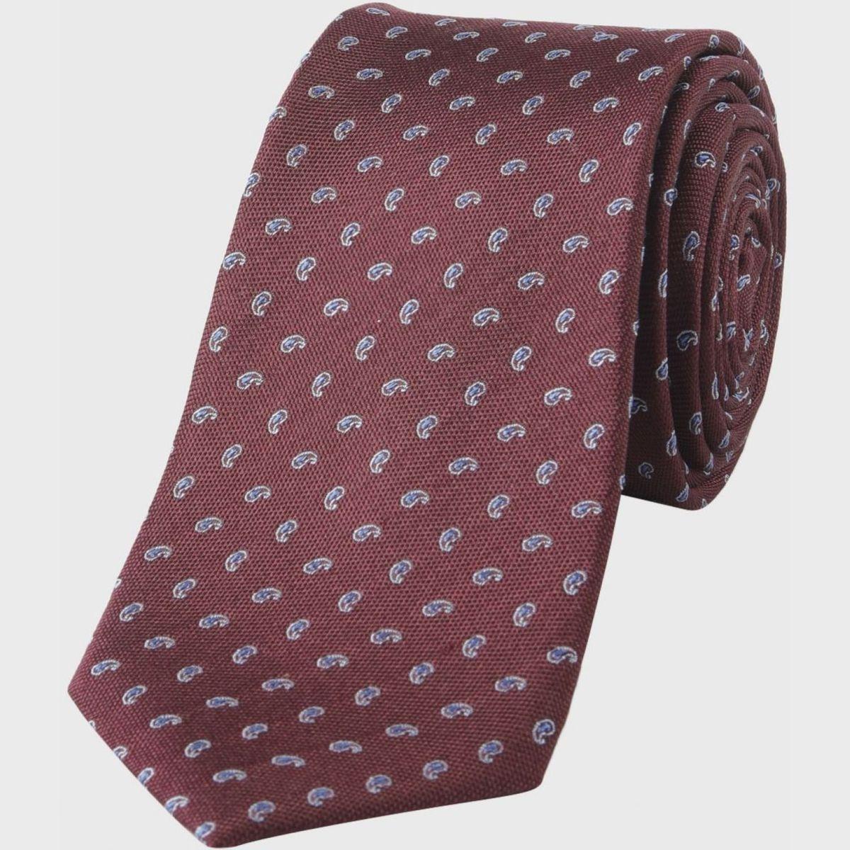 Cravate   motif cachemire
