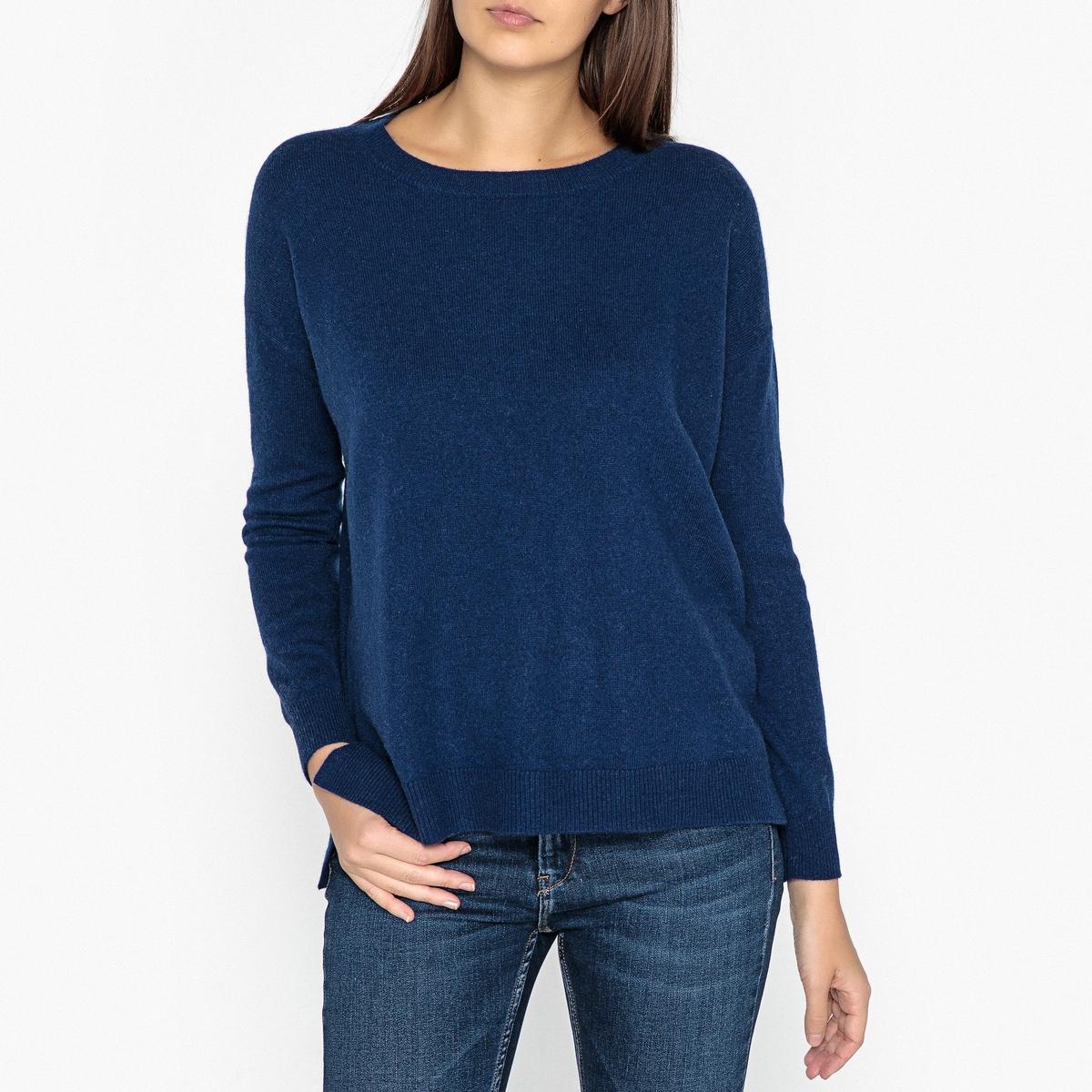 Пуловер кашемировый с круглым вырезом женский пуловер brand new 2015