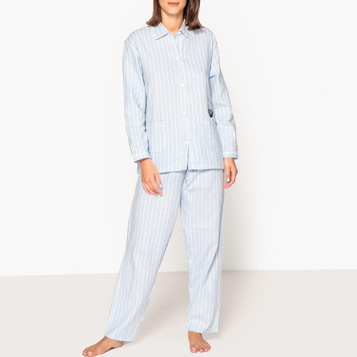 Pyjama chemise rayé Caliméro