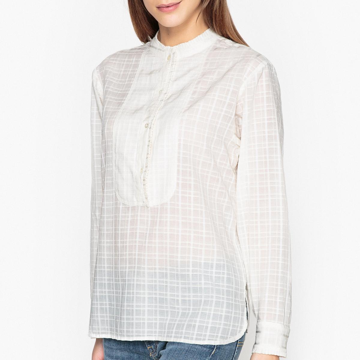 Блузка с манишкой