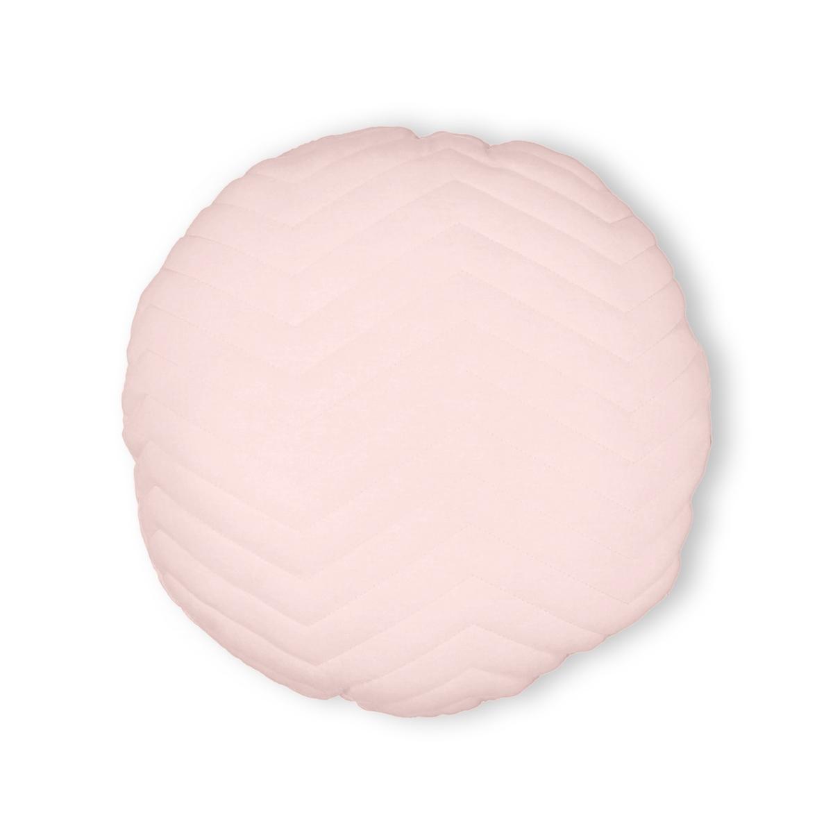 Подушка круглая стеганая, KAYOUОписание:Круглая стеганая подушка, KAYOU. Она легко размещается в углу дивана для нашего комфорта, а его нежная расцветка добавляет мягкую нотку !Характеристики подушки KAYOU :Джерси из полиэстера Зигзагообразная прострочкаНаполнитель 100% полиэстер Размер подушки KAYOU :Круглая, диаметр 40 смНайдите всю коллекцию KAYOU на нашем сайте  .ruЗнак Oeko-Tex® гарантирует, что товары прошли проверку и были изготовлены без применения вредных для здоровья человека веществ.<br><br>Цвет: розовая пудра