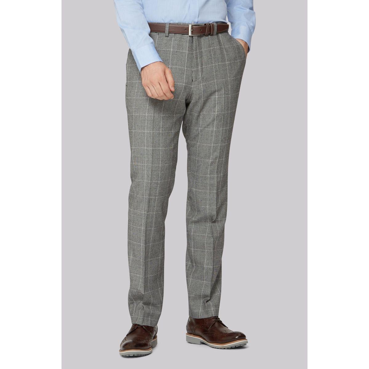 Pantalon carré coupe ajustée