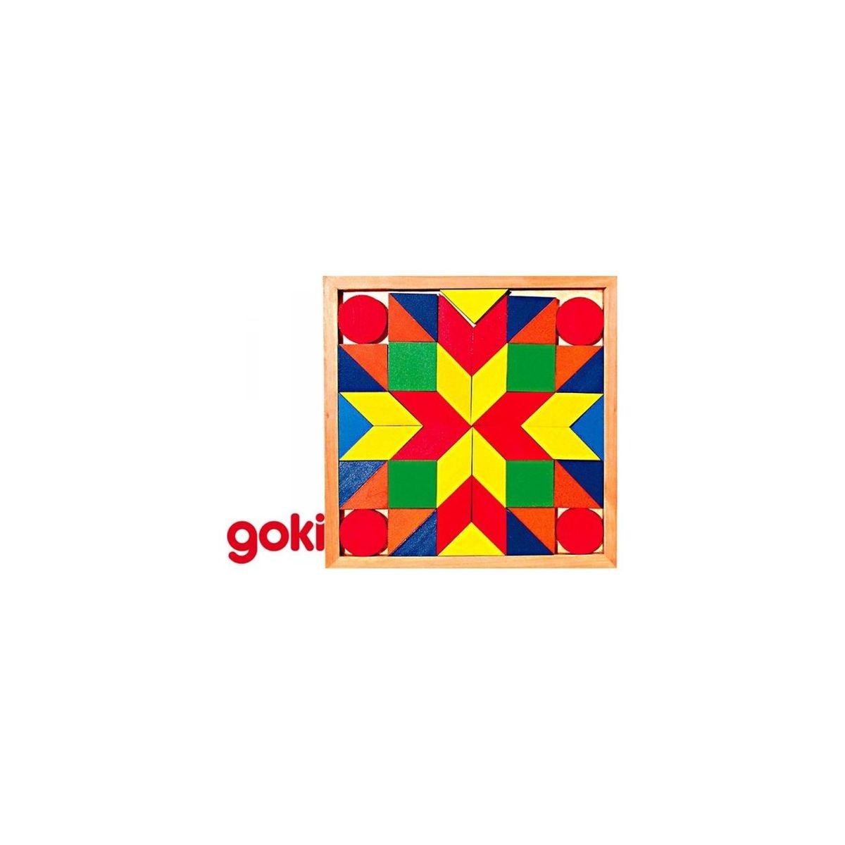 Puzzle Mosaïque 44 pièces en bois
