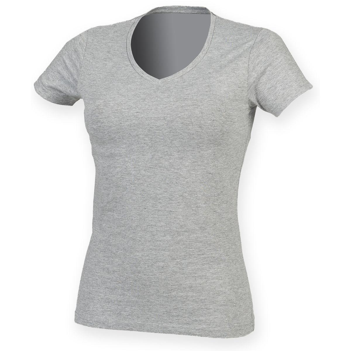 T-shirt col V FEEL GOOD