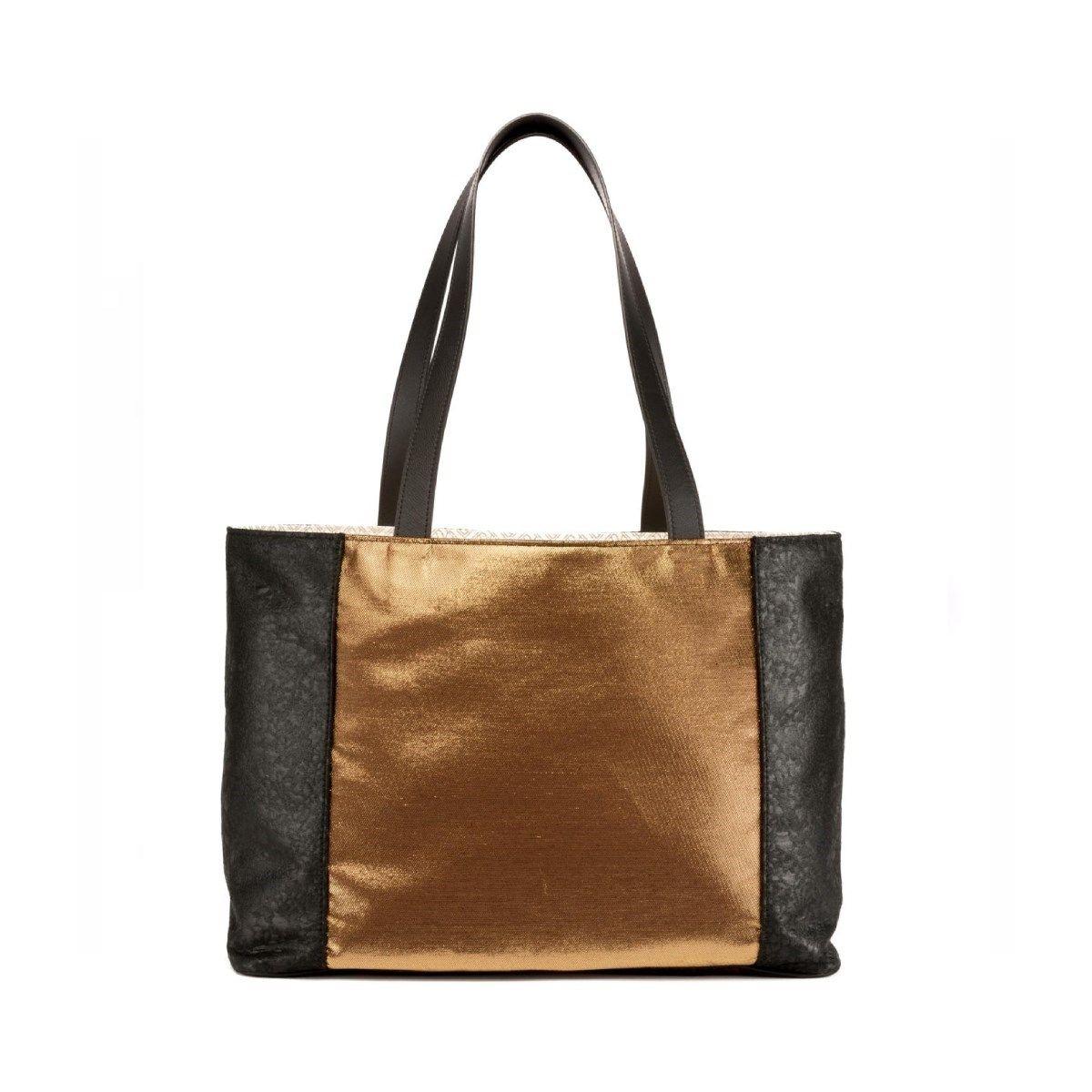 Grand sac Cabas tissus précieux Fil textile Escapade