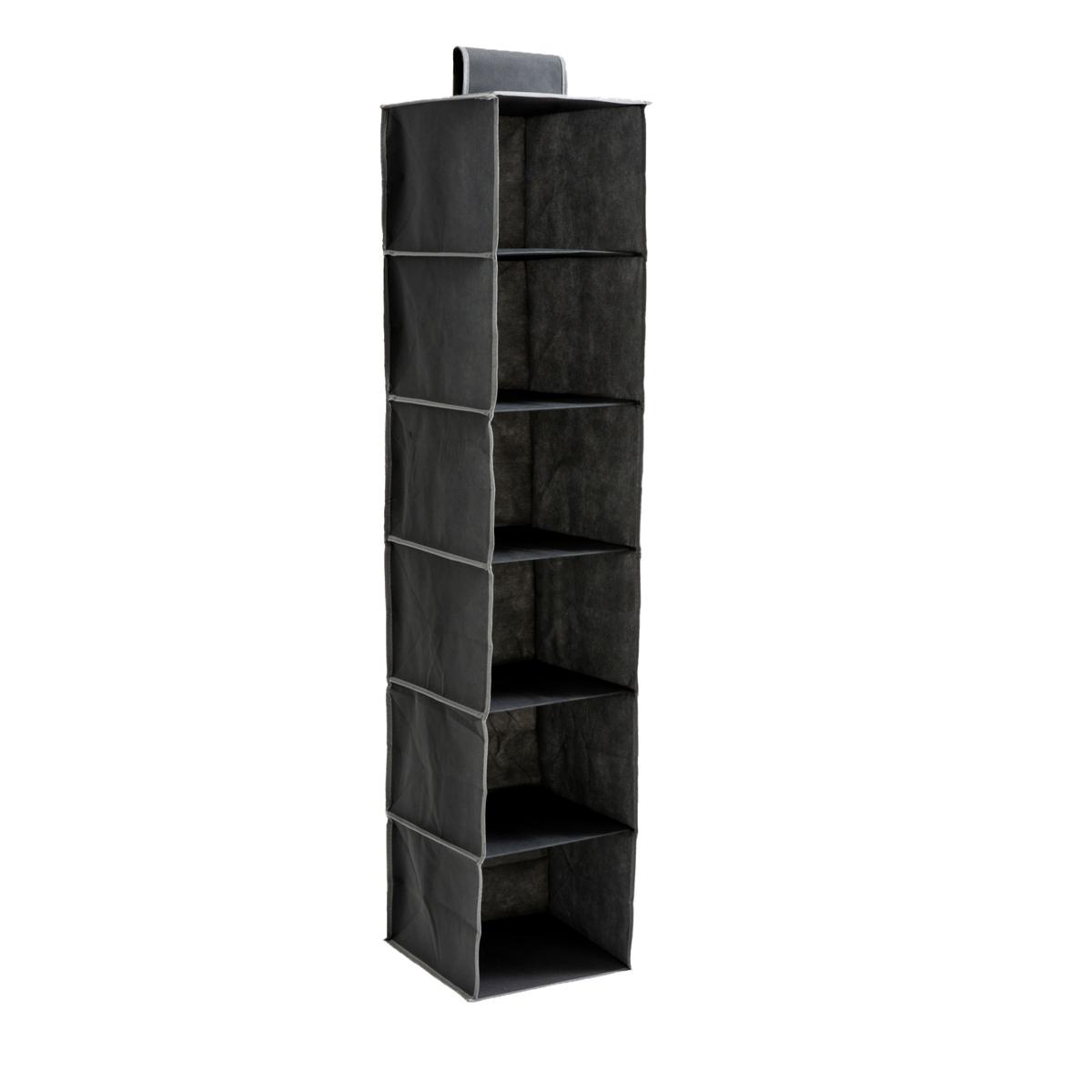 Органайзер LaRedoute Подвесной с 6 отделениями Storage единый размер серый