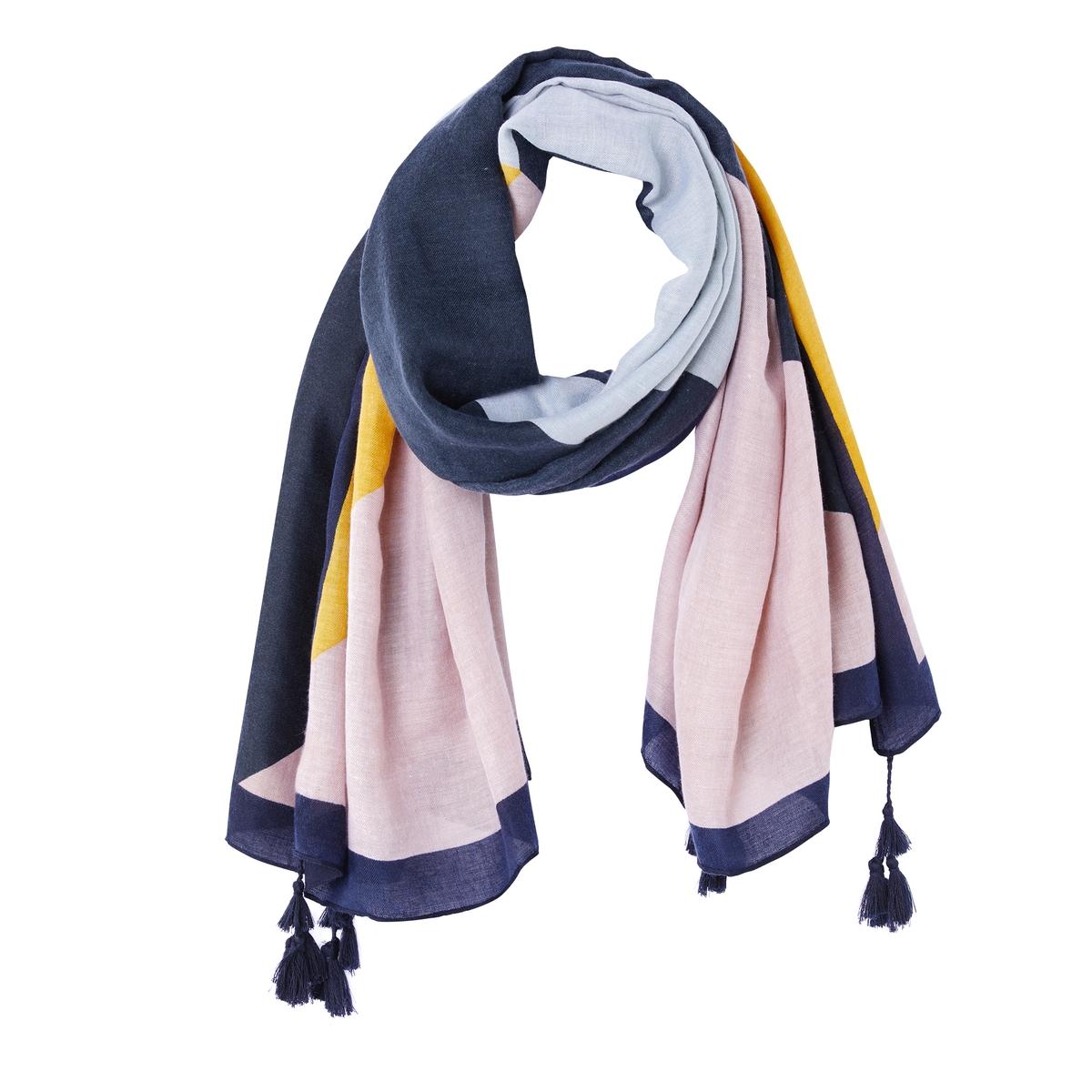 Платок с лоскутным рисунком yigal azrouel платок с принтом