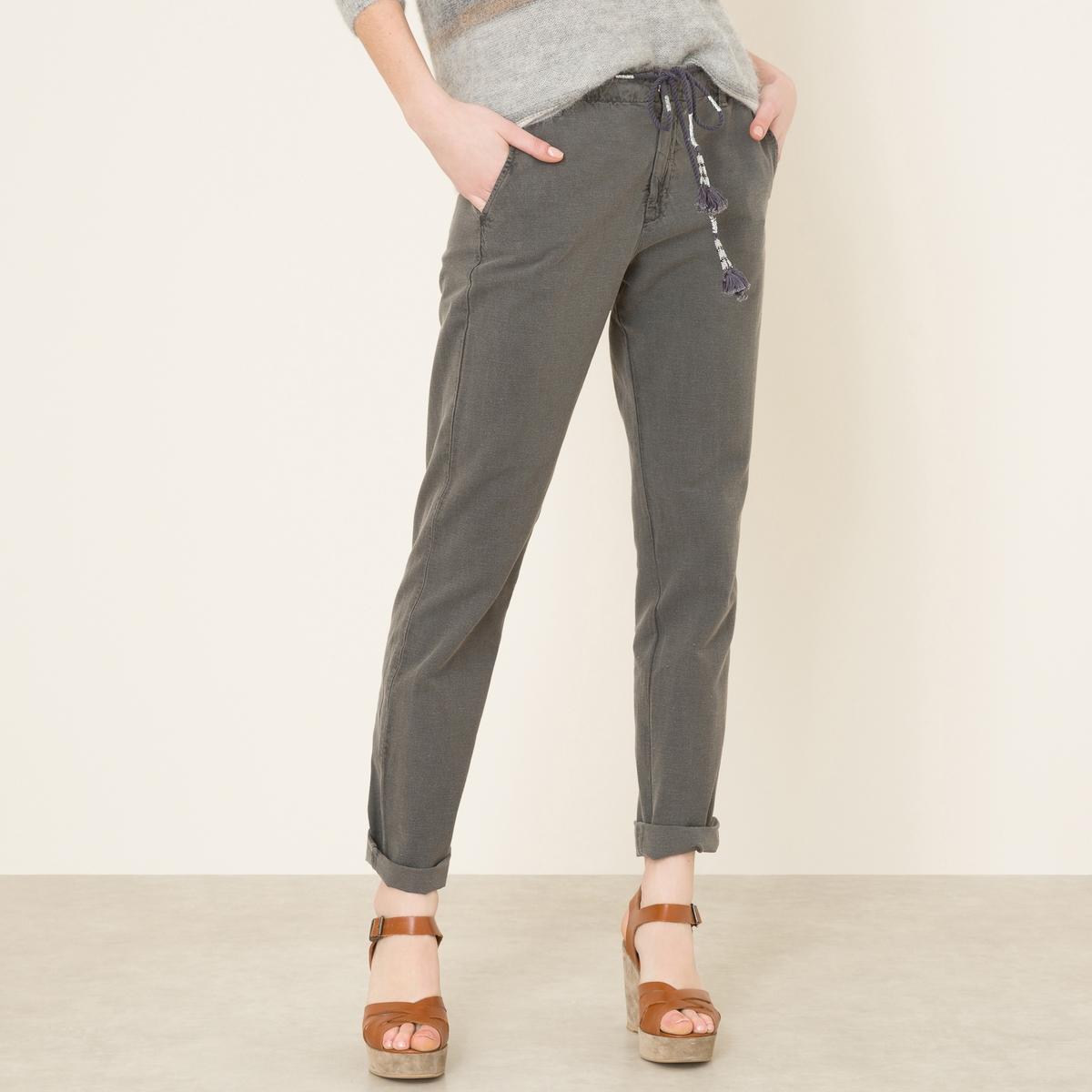Брюки с оригинальным ремешком брюки с ремешком gulliver брюки с ремешком