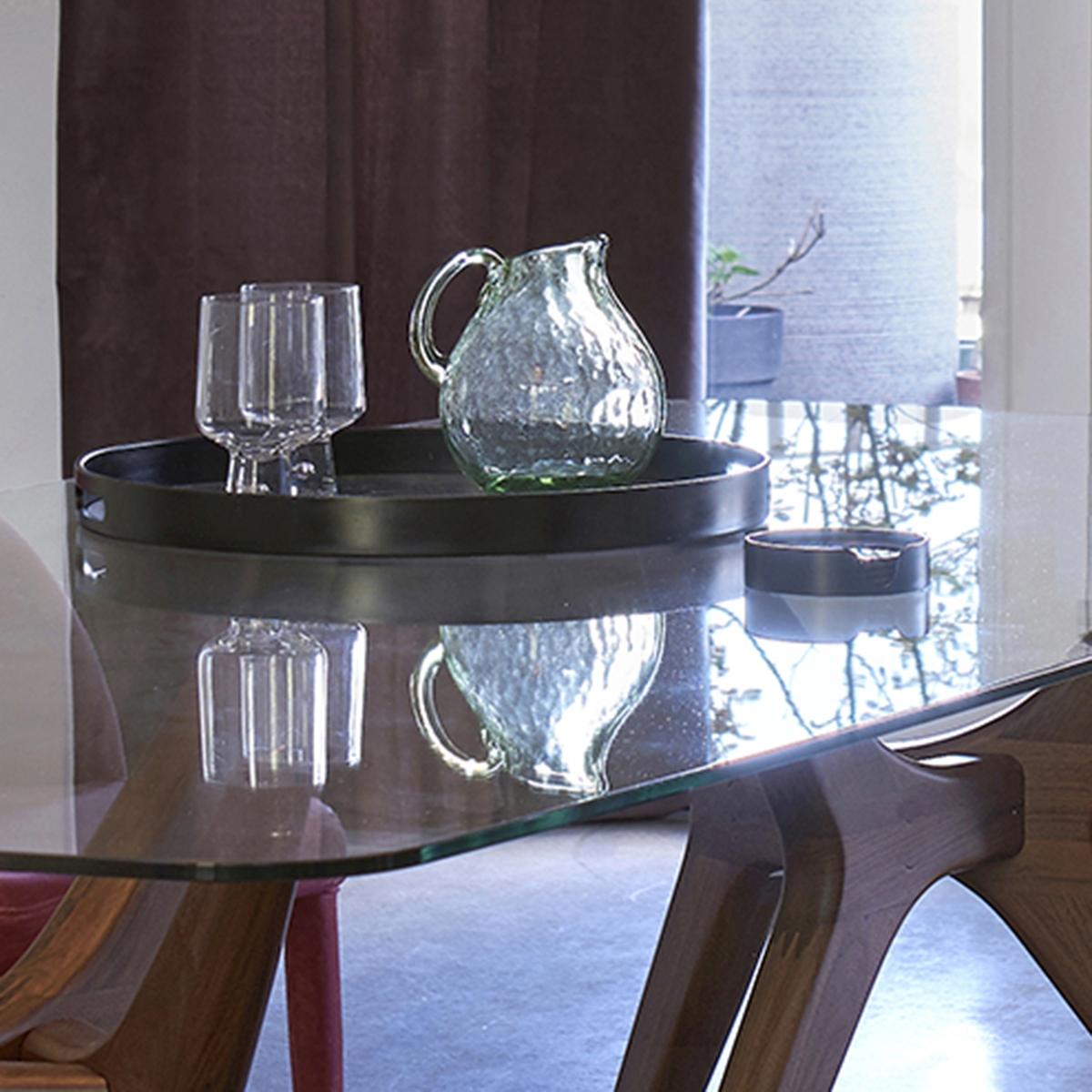 Caraffa in vetro soffiato, Galindo