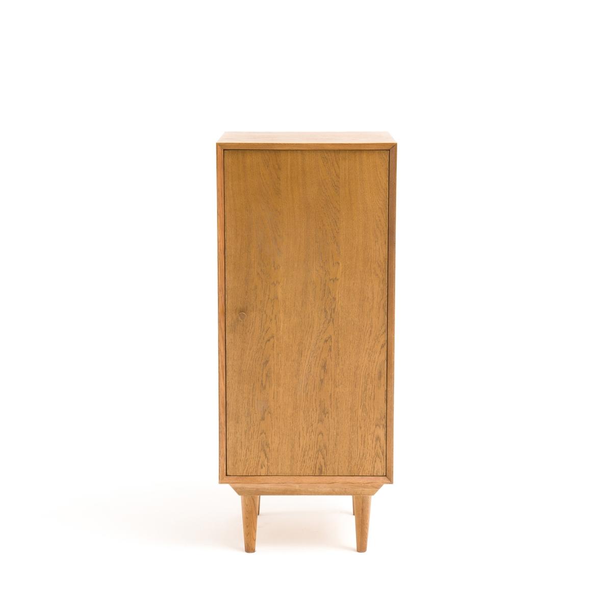 Шкаф для ванной комнаты с 1 дверцей и 3 поками QUILDAMDF