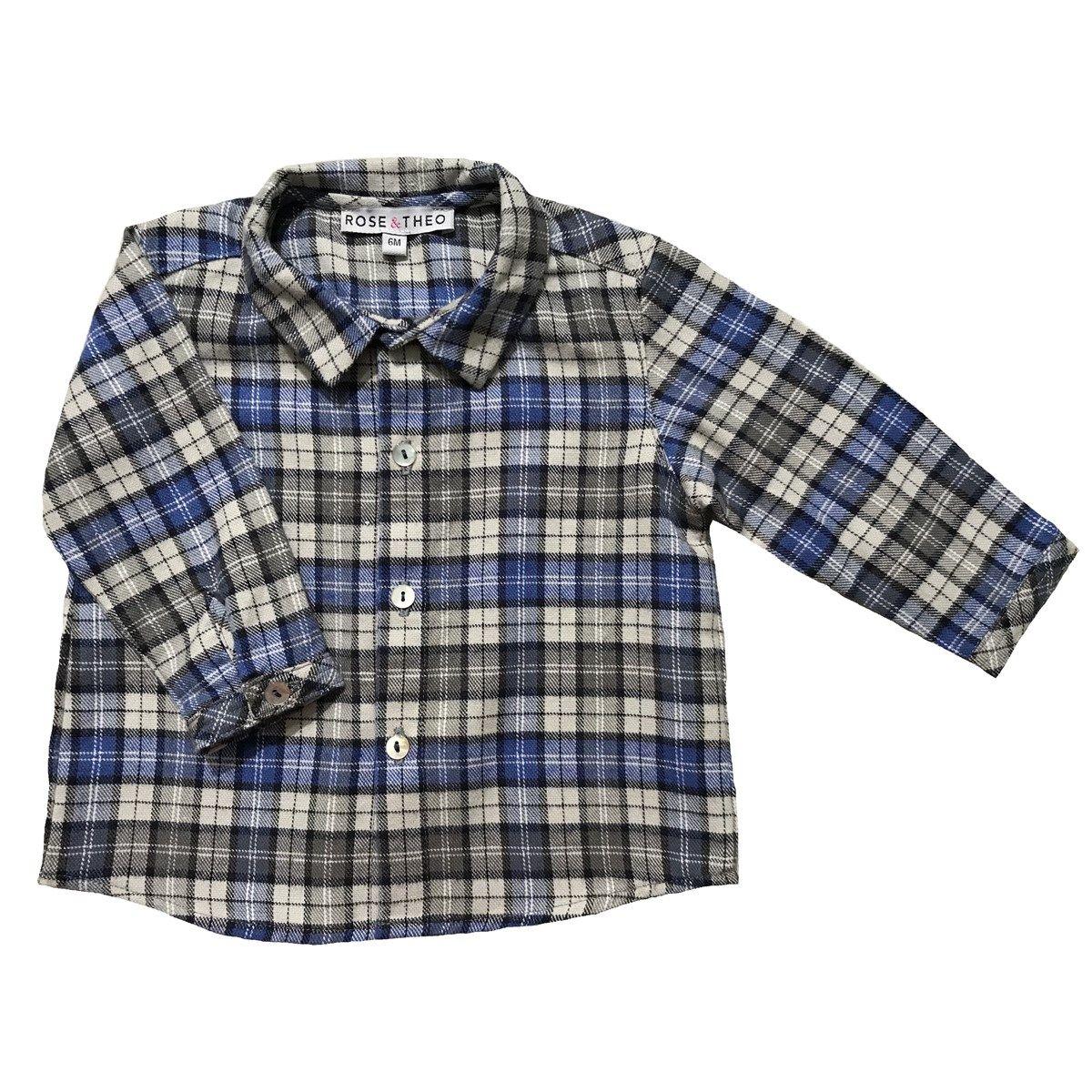 Chemise en coton à carreaux ARTHUR