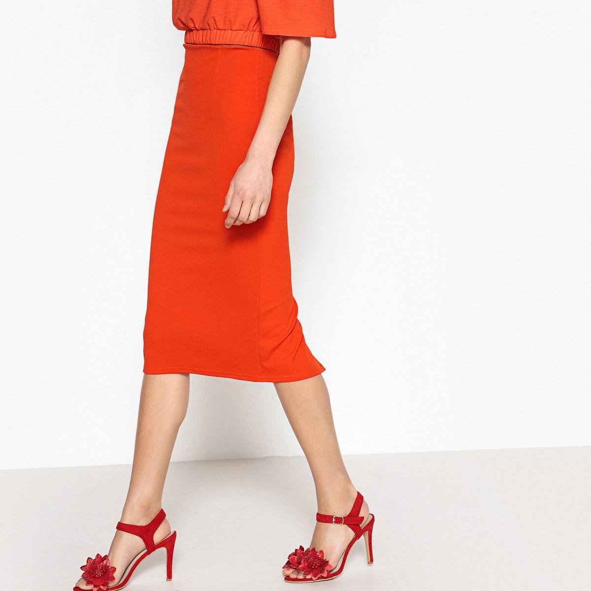 Юбка-карандаш с высокой талией, длина до колен буэнос ниньос пояс оформлены юбку карандаш с коротким рукавом платье длиной до колен