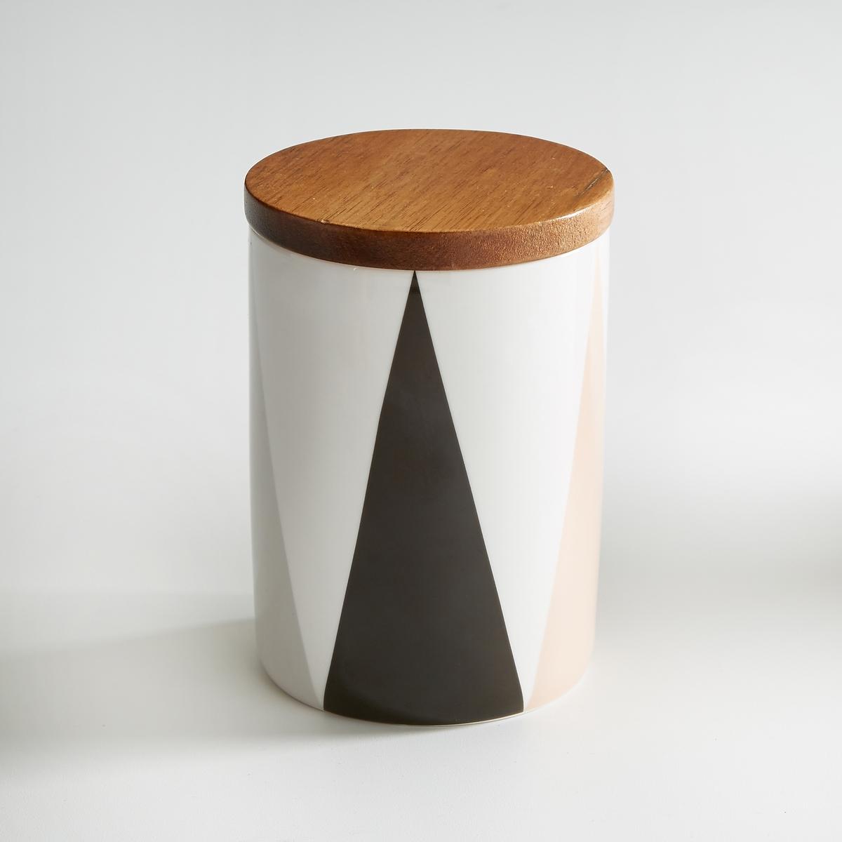 Кувшин из керамики и бамбука