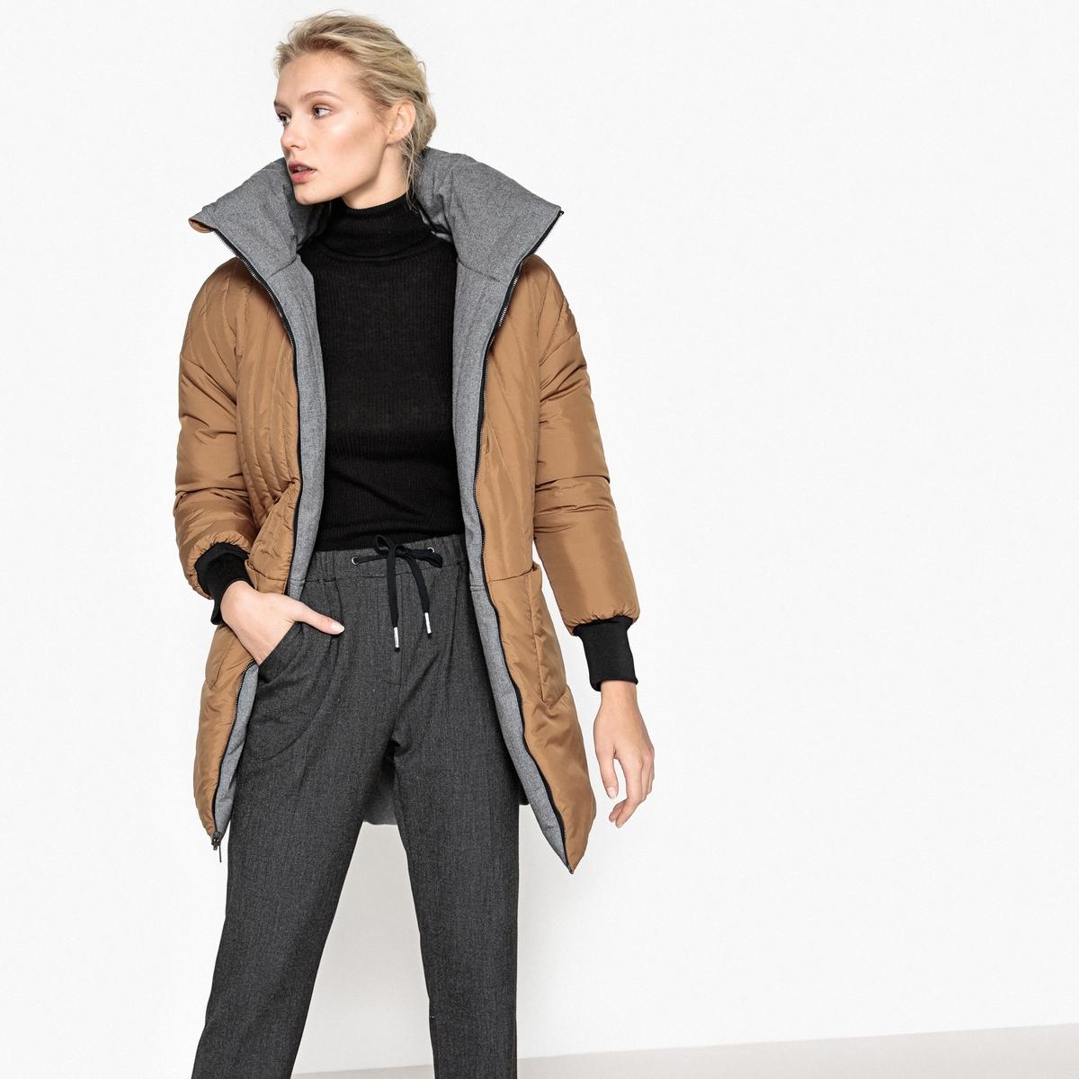 Куртка двусторонняя покроя оверсайз