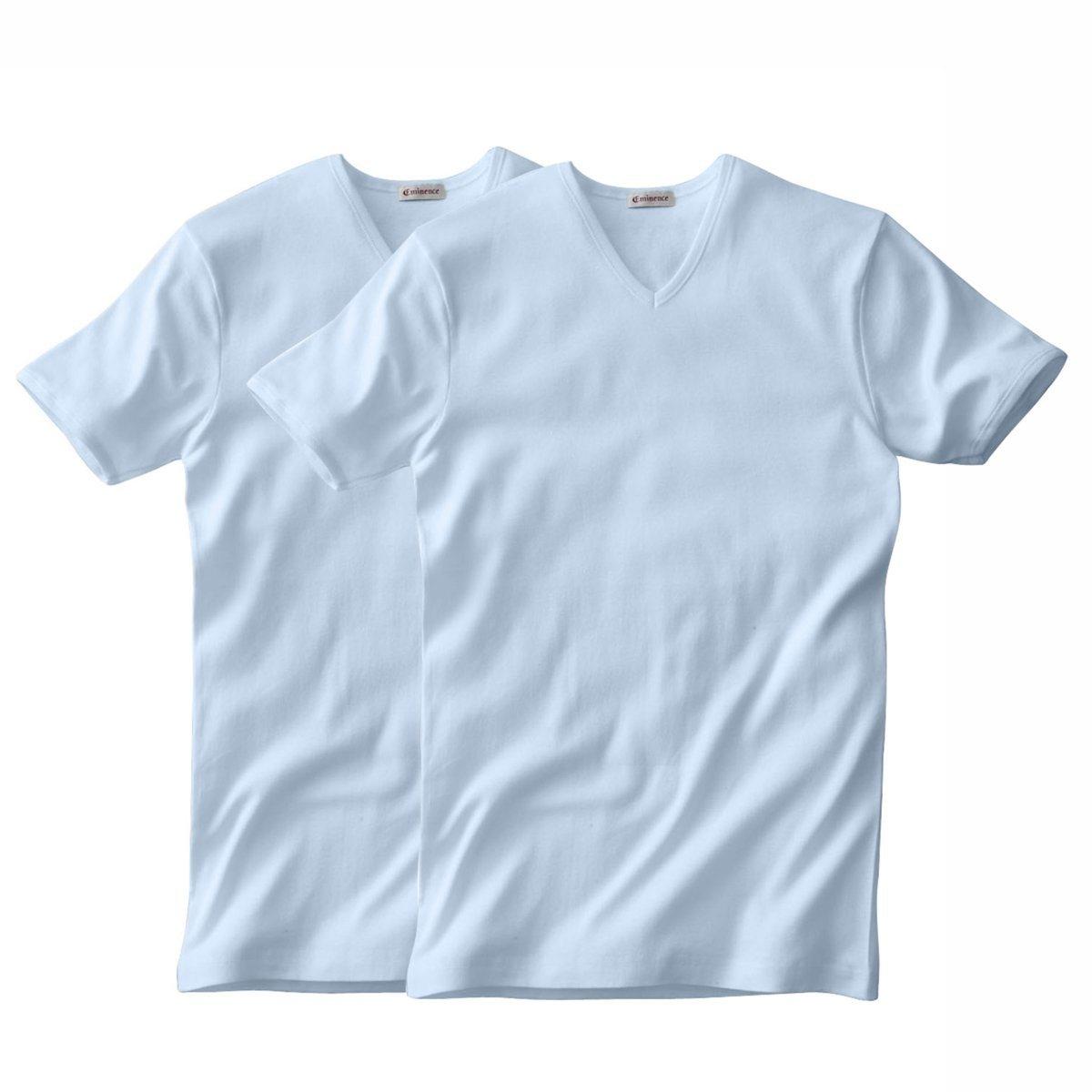 Комплект из 2 футболок EMINENCE с V-образным вырезом и короткими рукавами b screen b156xw02 v 2 v 0 v 3 v 6 fit b156xtn02 claa156wb11a n156b6 l04 n156b6 l0b bt156gw01 n156bge l21 lp156wh4 tla1 tlc1 b1