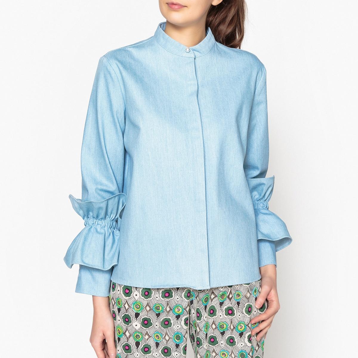 Рубашка-трапеция с оригинальными рукавами bronte c jane eyre книга для чтения level 4