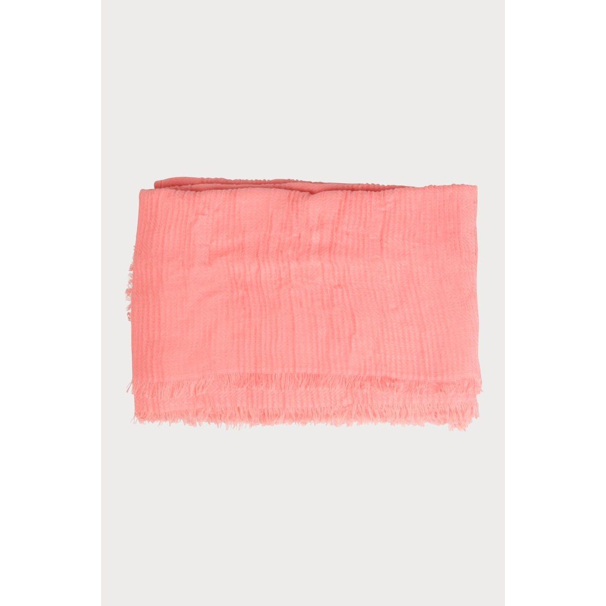 Foulard effet plissé