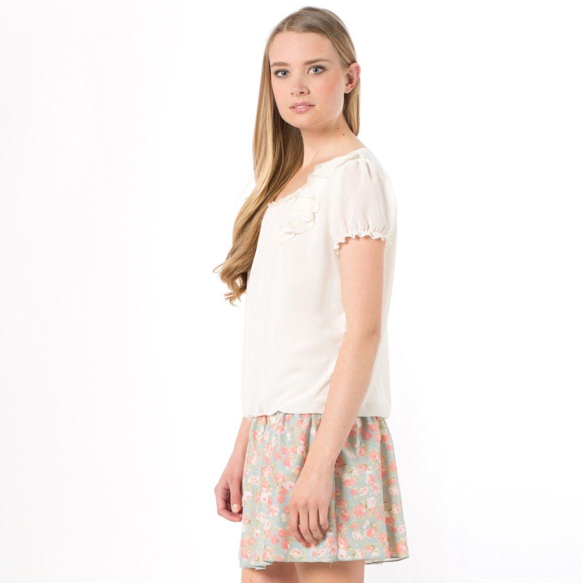 Платье 2 в 1Платье 2 в 1 MOLLY BRACKEN из 100% полиэстера. Эластичные вставки на бедрах. Длина ок.83 см.<br><br>Цвет: экрю