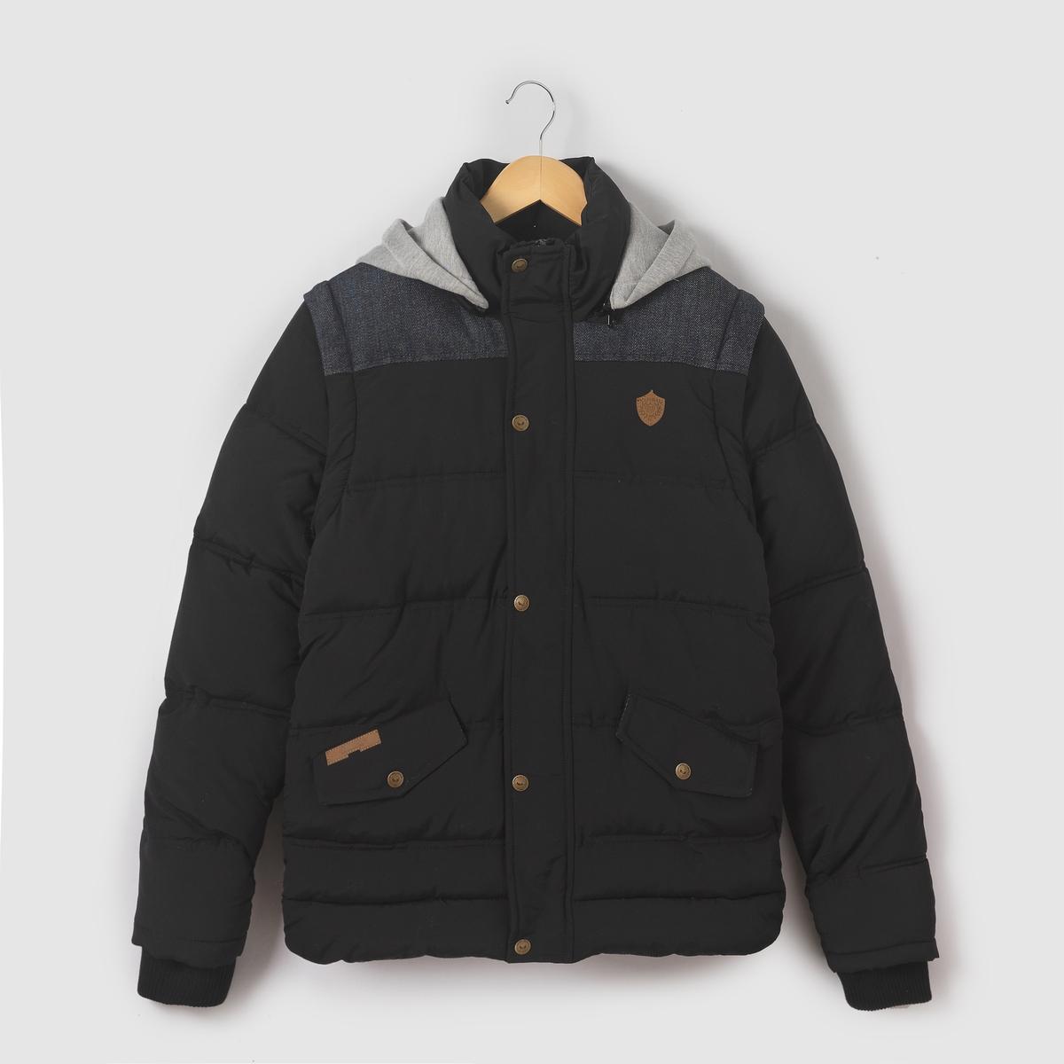 Куртка с капюшоном на молнии, 10-16 лет