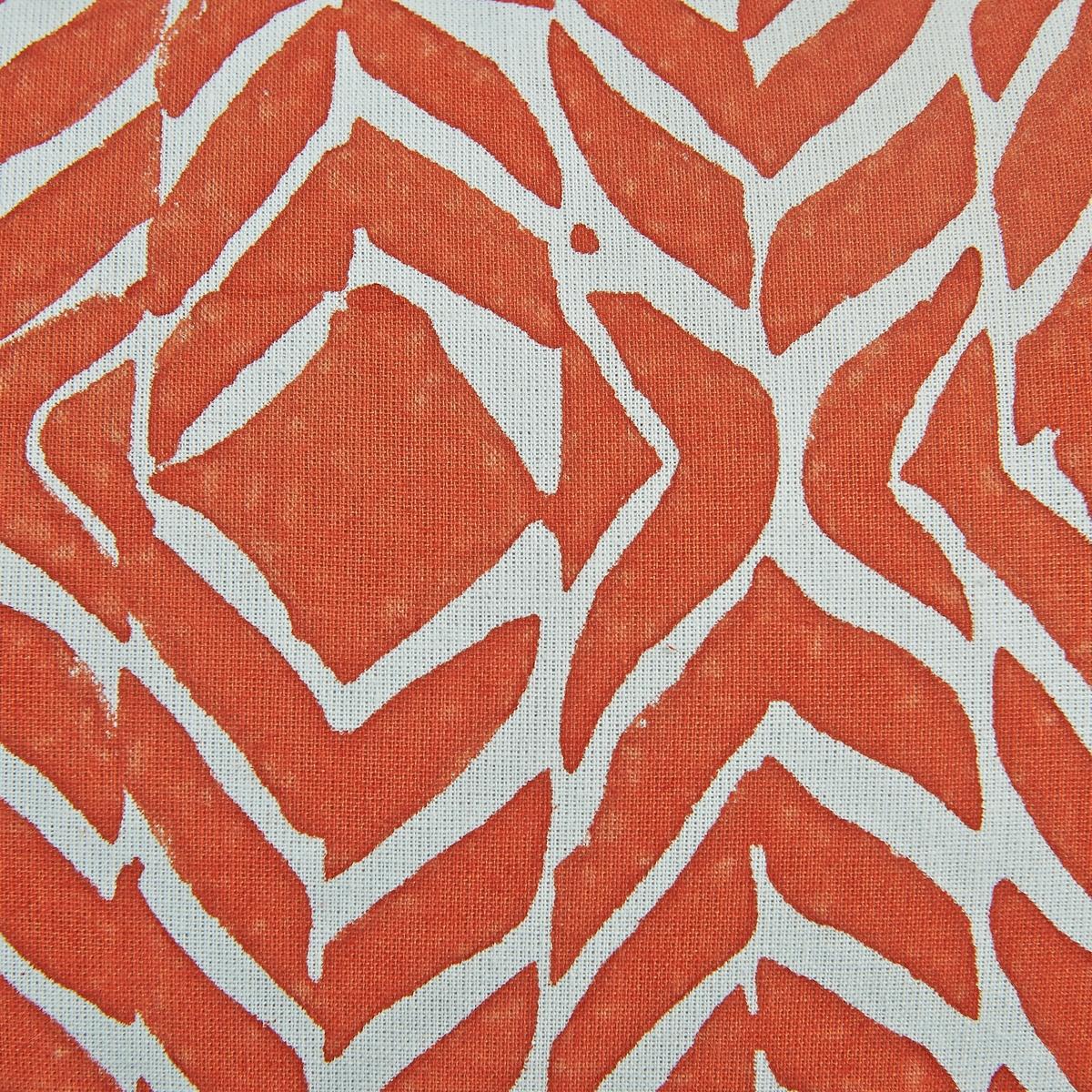 Чехол для подушки ZivotineЧехол для подушки с бахромой. Застежка на молнию Материал :- 100% хлопок.Размер :- 50 x 30 см.<br><br>Цвет: оранжевый
