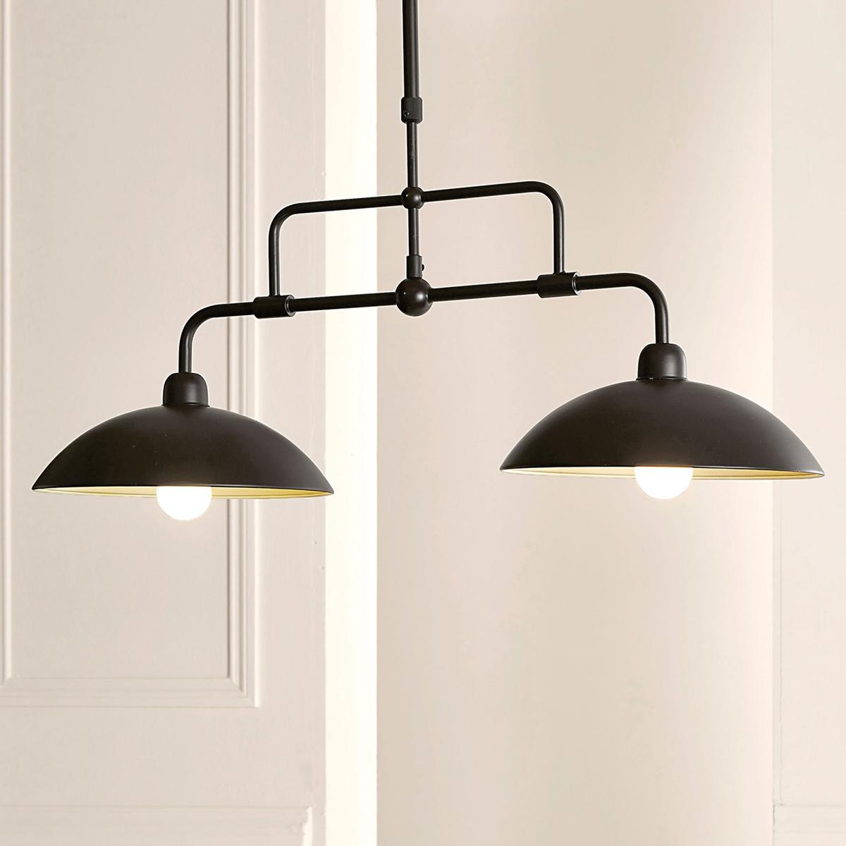 Светильник с 2 ответвлениями из металла, IvanoПравильно дозированное освещение   ! Описание светильника, Ivano :Коричневый цвет .Регулируется по высоте. Электрифицированный 2 цоколя E14 для лампочек макс. 40W    (20W для лампочек с низким потреблением). Этот светильник совместим с лампочками    энергетического класса    : A-B-C-D-EХарактеристики светильника, Ivano :Из металла с эпоксидным покрытием .Всю коллекцию светильников вы можете найти на сайте laredoute.ru.Размеры светильника, Ivano :Ширина : 76 смВысота регулируется от 72 до 102,5 см Глубина : 28 см<br><br>Цвет: каштановый<br>Размер: единый размер