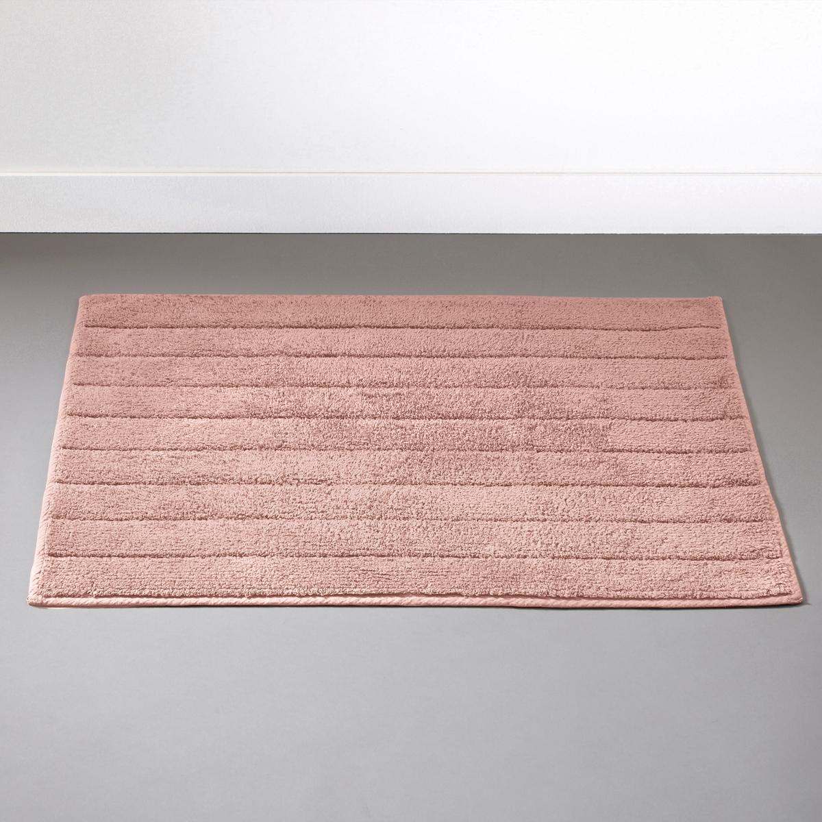 Коврик LaRedoute Для ванной 1300 гм 70 x 120 см розовый