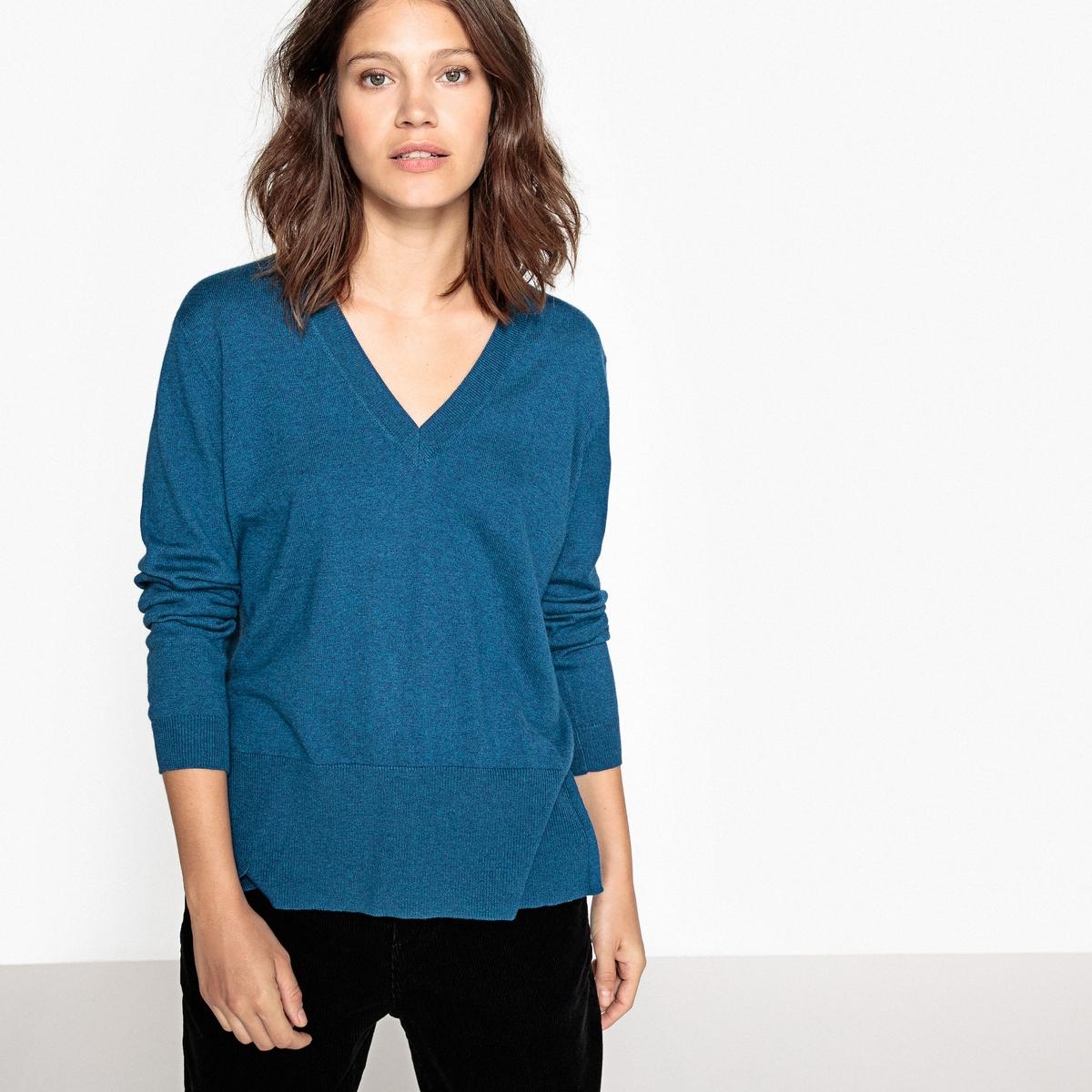 Sweter z dekoltem w kształcie litery V
