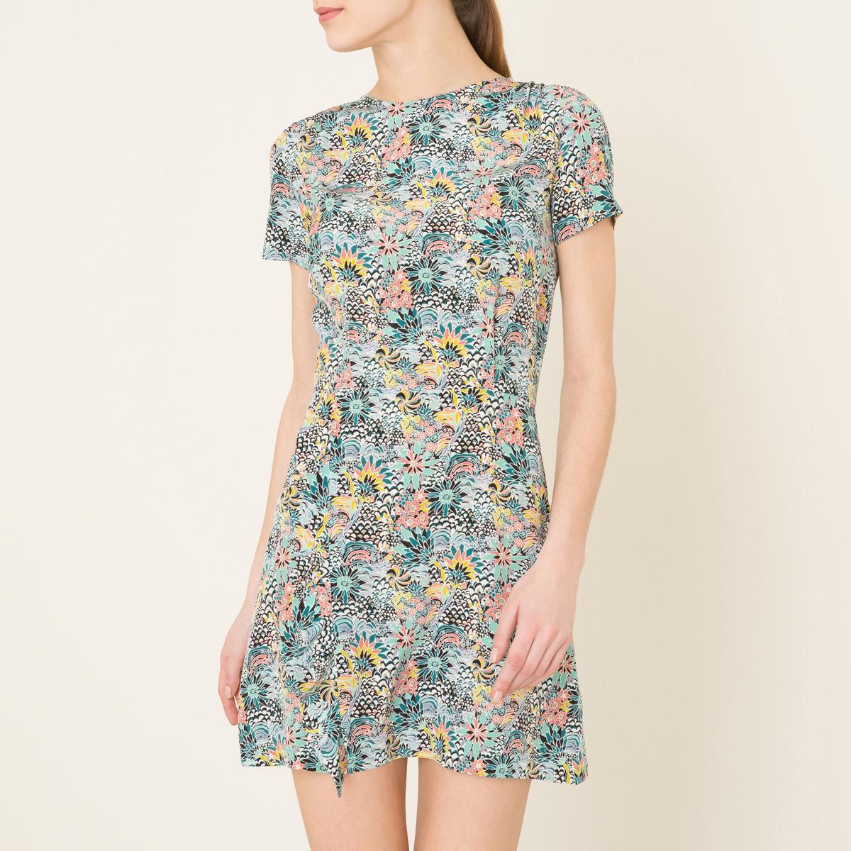 Платье MAGDALENAСостав и описание   Материал : 100% шелк   Марка : SESSUN<br><br>Цвет: набивной рисунок