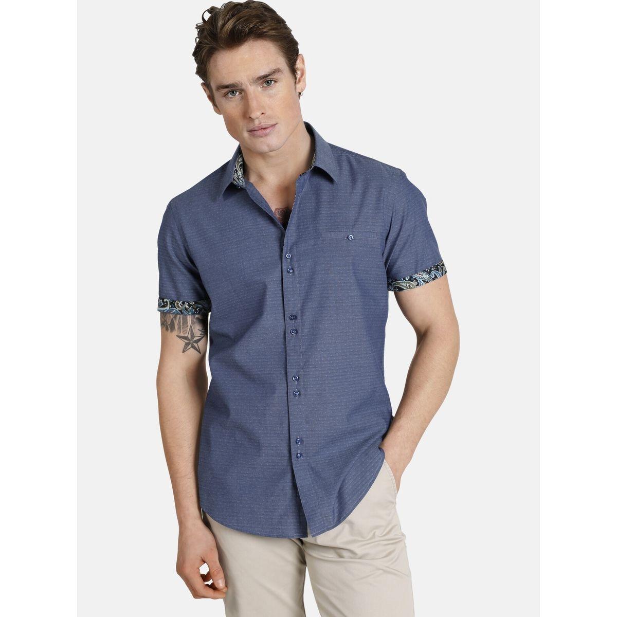 Chemise à manches courtes hiddentreasures