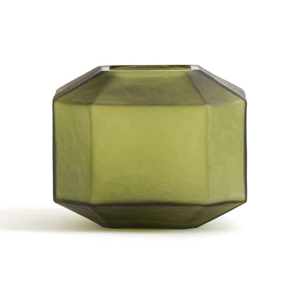 Ваза La Redoute Из покрытого инеем стекла В см Wele единый размер зеленый