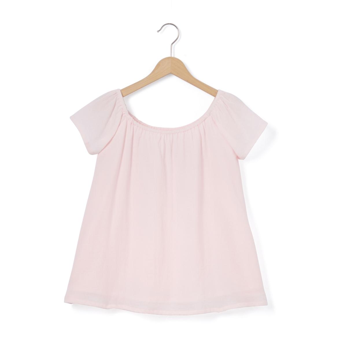 Блузка с открытыми плечами, 10-16 лет
