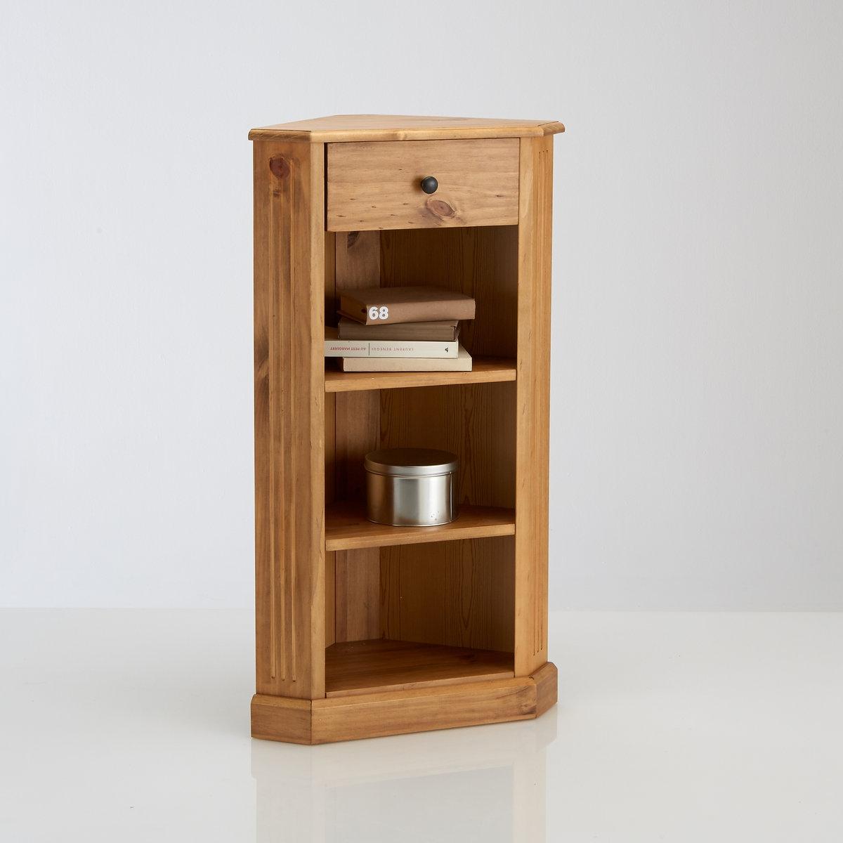 Угловая этажерка из массива сосны, Authentic Style