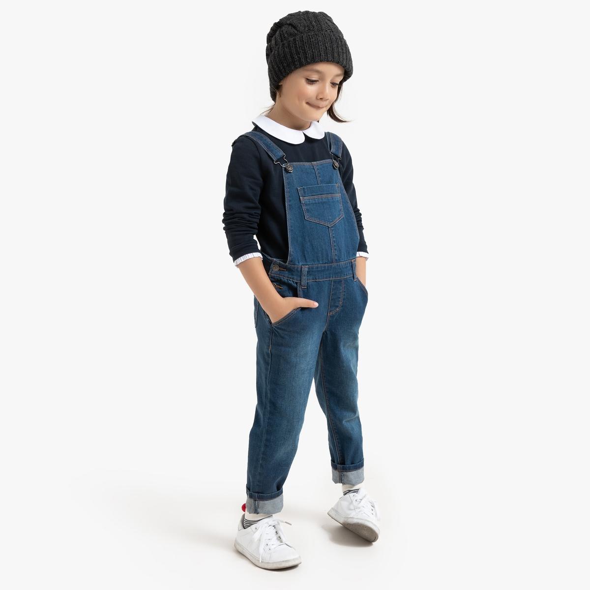 Свитшот La Redoute С закругленным отложным воротником 6 лет - 114 см синий пиджак с отложным воротником b young