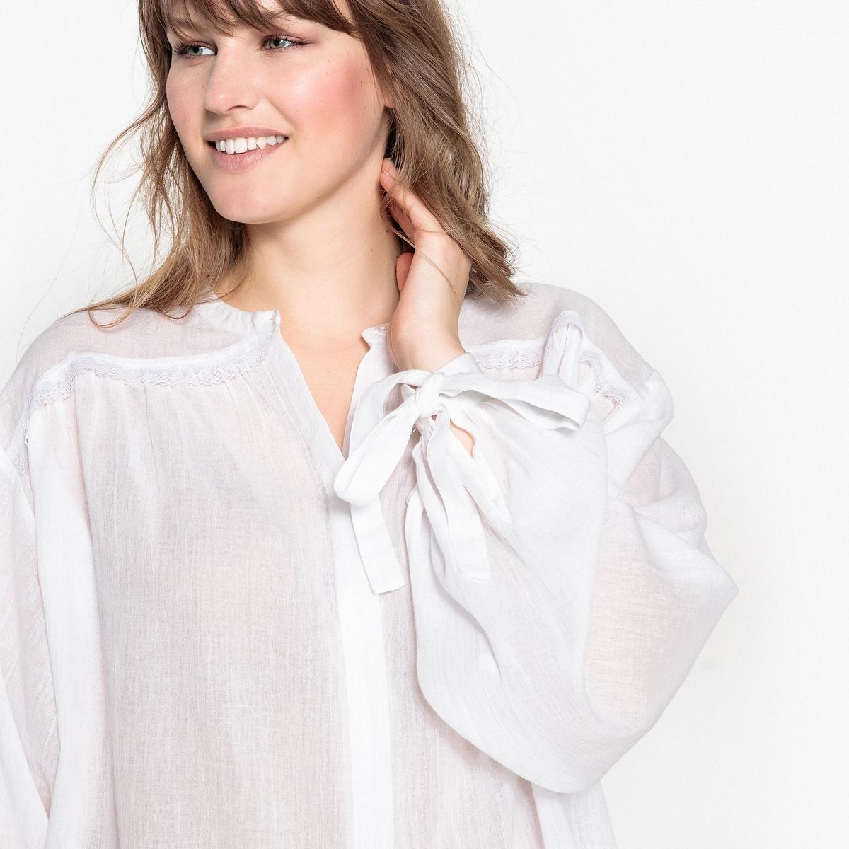 Блузка с воротником-стойкой и длинными рукавами rnt23 черный пиджак с воротником стойкой