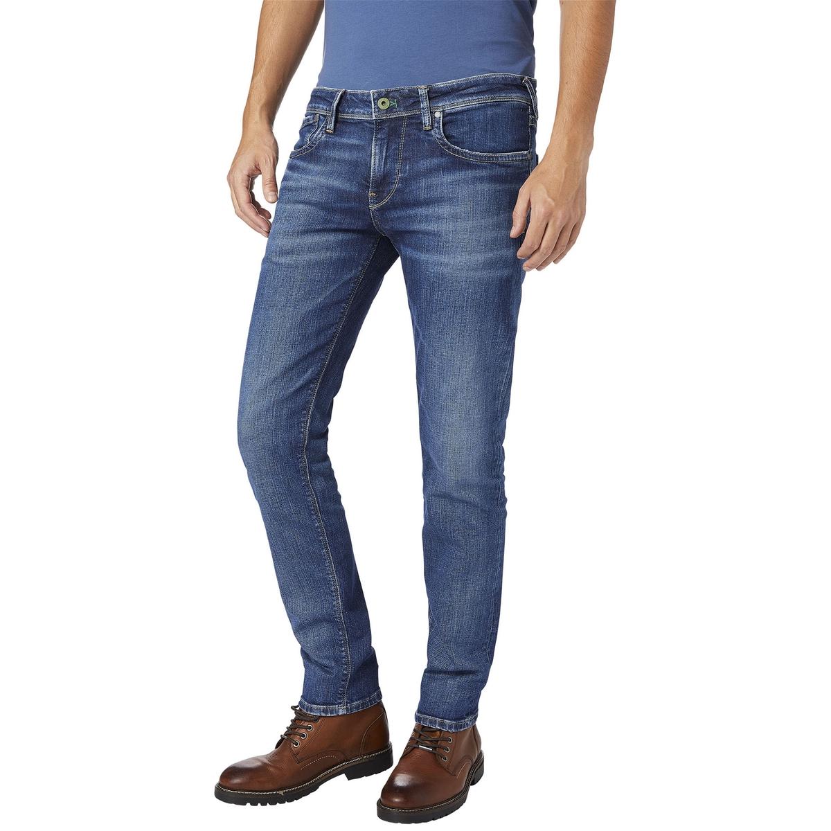 Джинсы узкого покроя HATCH, экологичный вытертый эффект pepe jeans фактурные джинсы