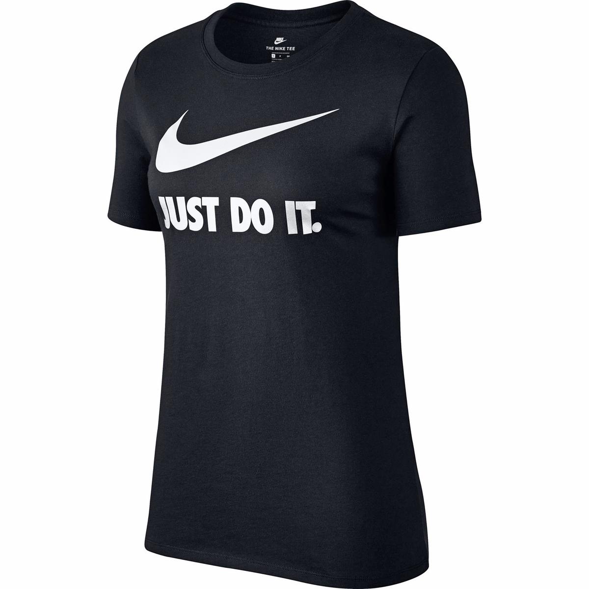 Camiseta con logotipo Just Do It de manga corta