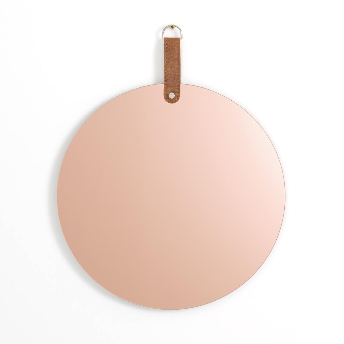 Зеркало круглое дымчатое DAREN sibel зеркало парикмахерское белое круглое 22 см