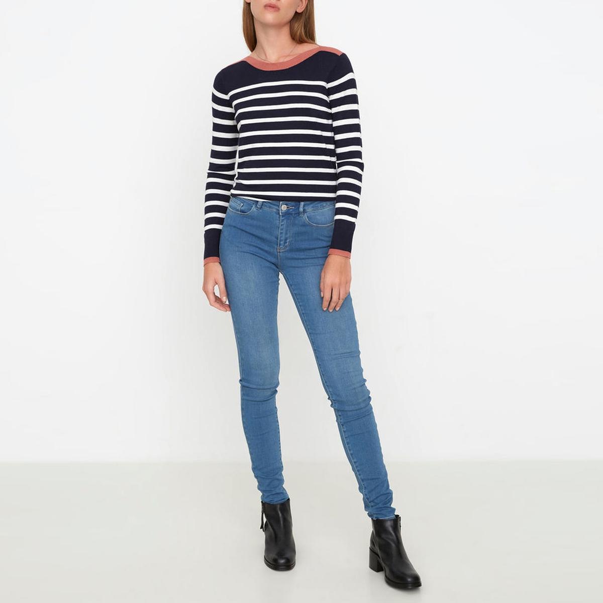 Джинсы узкие со стандартной талиейМатериал : 27% вискозы, 41% хлопка, 2% эластана, 30% полиэстера    Высота пояса : стандартная  Покрой джинсов : узкий  Длина джинсов : длина 32<br><br>Цвет: голубой