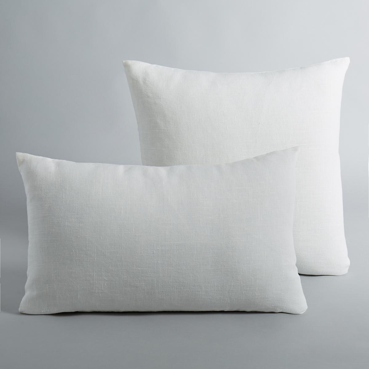 Льняной чехол для подушки, GeorgetteМатериал : - 100% льнаРазмер : - 50 x 30см : прямоугольная форма- 45 x 45 см : квадратная наволочка<br><br>Цвет: антрацит,белый,желтый карри,оранжевый,розовый,светло-серый,серо-зеленый,синий морской,экрю