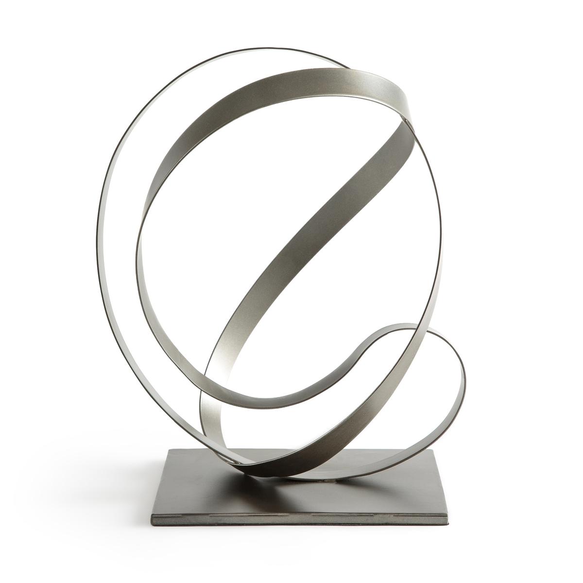 Предмет La Redoute Декора из металла Hanzaki единый размер серый стол la redoute журнальный из агата и металла anaximne единый размер синий