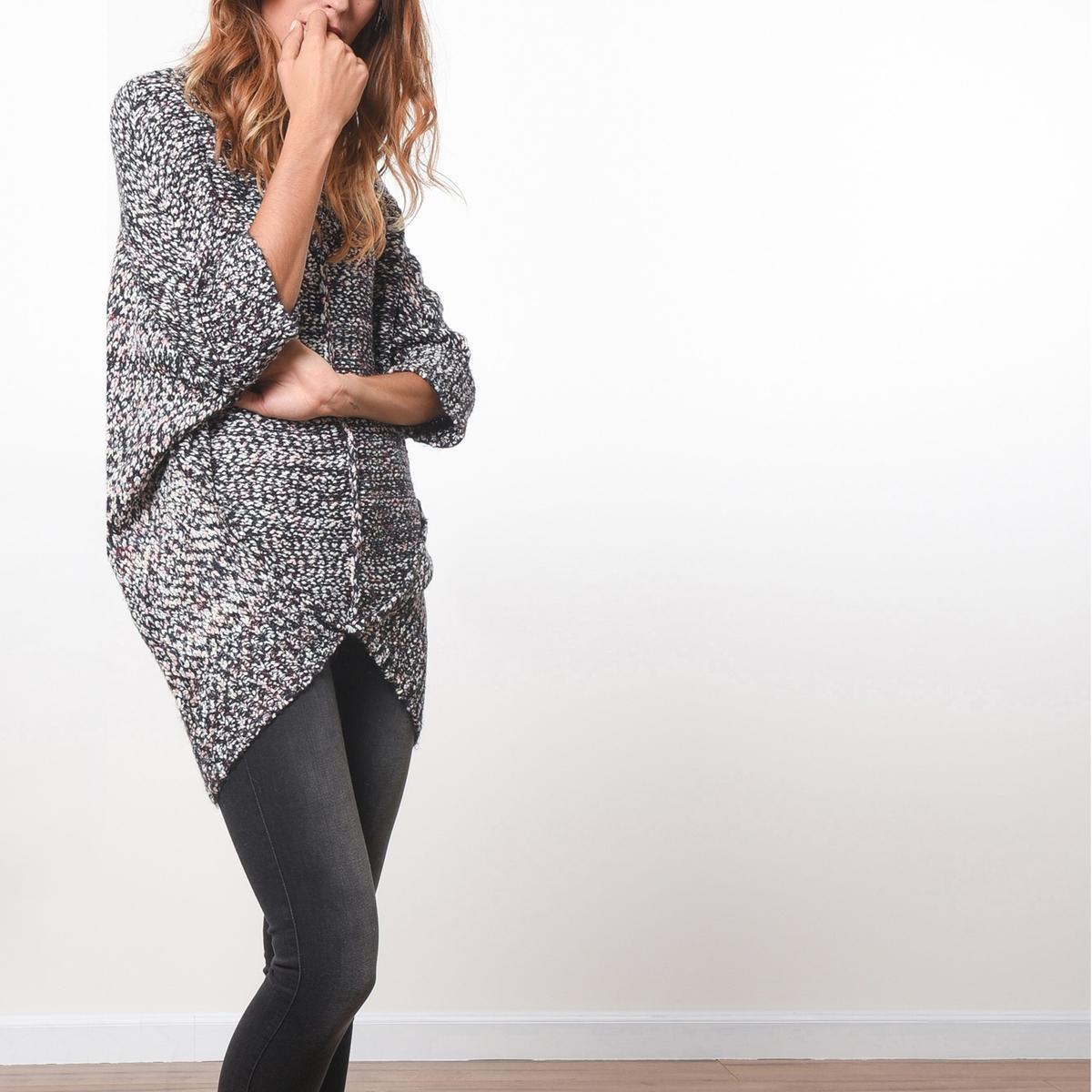 Пуловер с V-образным вырезомСостав и описаниеМатериал            54% полиэстера, 46% акрила     Марка            JOE RETRO          Уход     Следуйте рекомендациям по уходу, указанным на этикетке изделия<br><br>Цвет: разноцветный