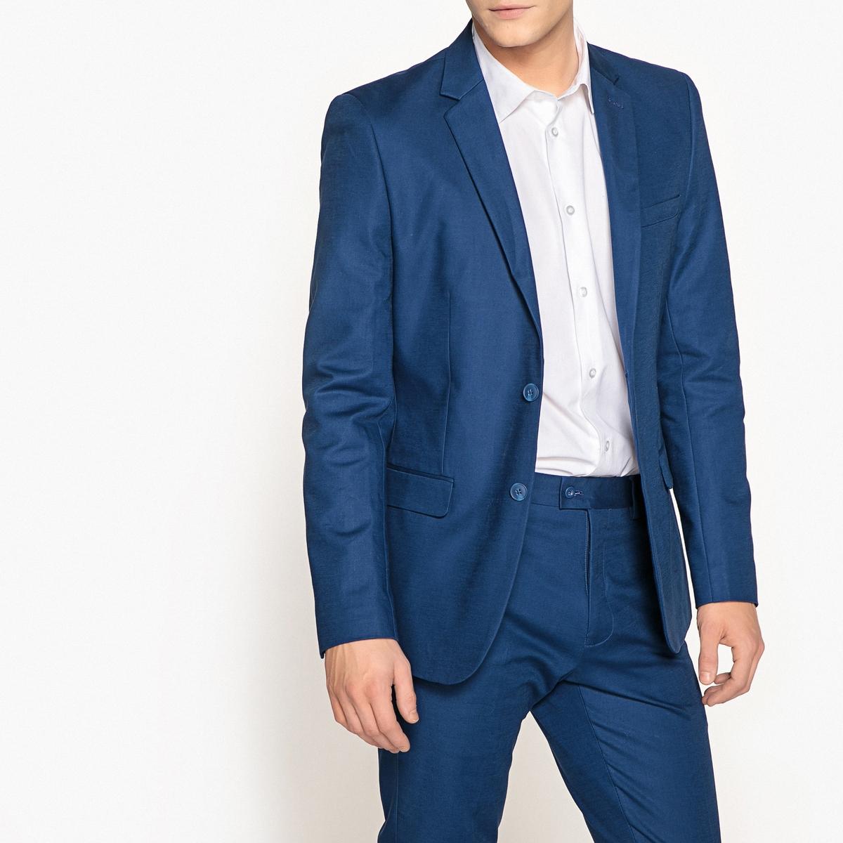 Пиджак костюмный зауженный