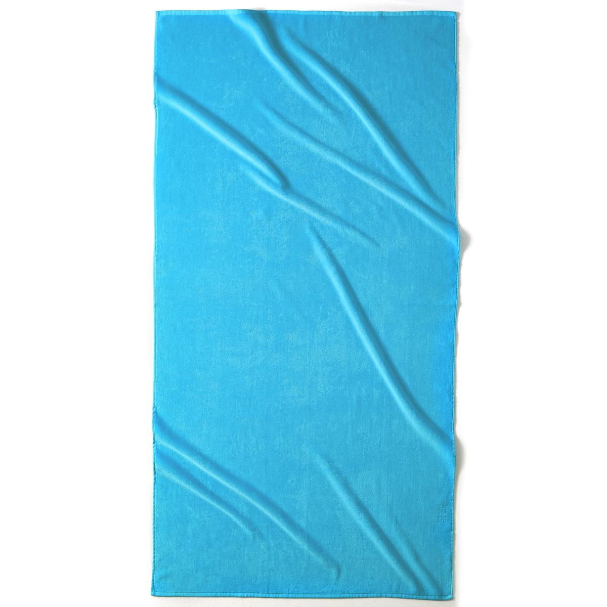 Полотенце пляжное ESTORILПляжное полотенце из 100% хлопка, 420 г/м?. 1 сторона из велюра, 1 сторона из махровой ткани. Размер полотенца: 90 x 175 см. Стирка при 40°.<br><br>Цвет: Голубая лагуна,гренадин,зеленый анис,синий морской волны,темно-серый,фиолетовый<br>Размер: единый размер