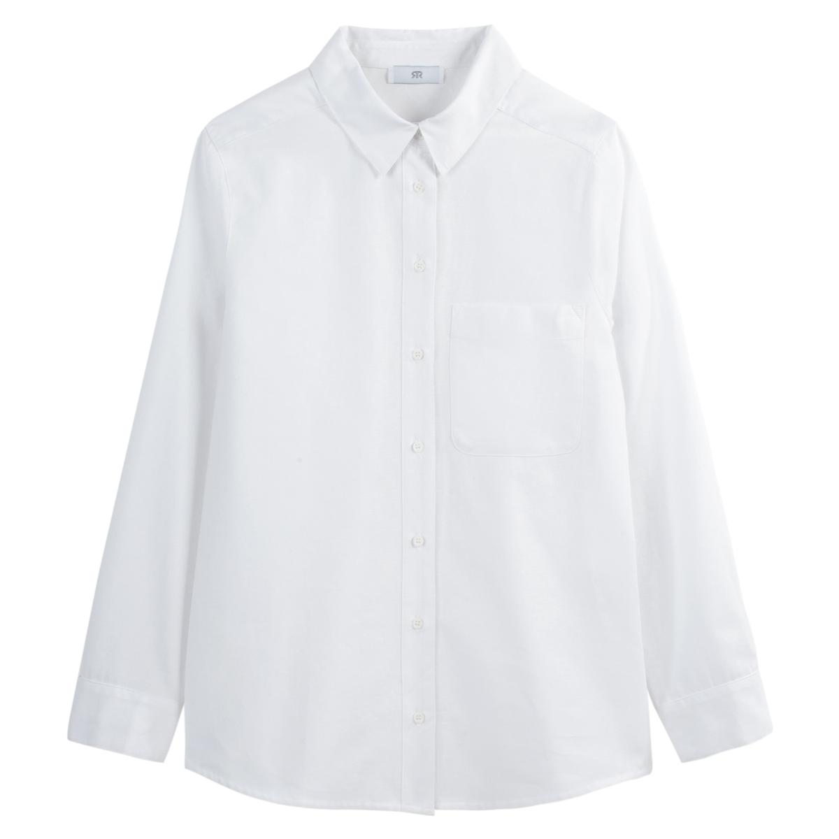 Блузка свободного покроя бойфренд с длинными рукавами блузка свободного покроя бойфренд с v образный вырезом рисунком и рукавами 3 4