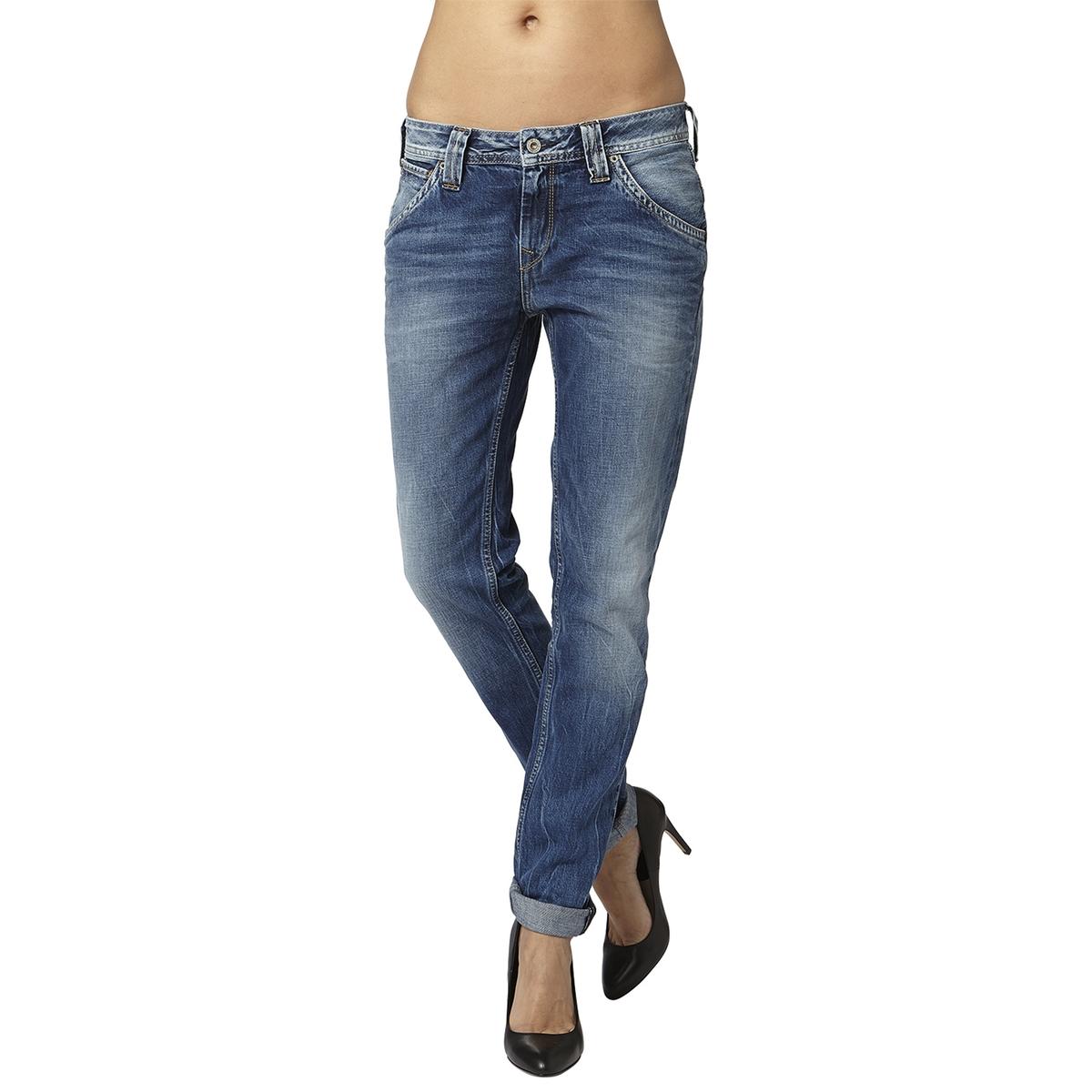 Джинсы boyfriend IDOLERМатериал :     Высота пояса : стандартная Покрой джинсов : бойфренд Длина джинсов : длина 32<br><br>Цвет: потертый деним<br>Размер: 26 длина 32.27 длина 32.25 длина 32