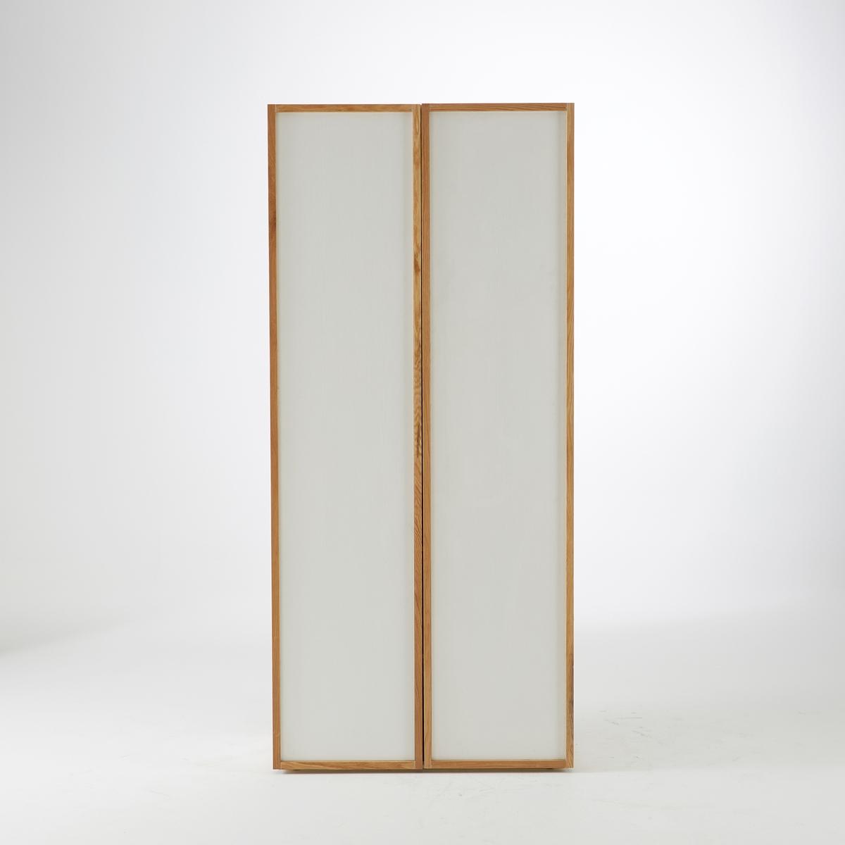 2-дверный шкаф с 5 полками из массива дуба, Compo