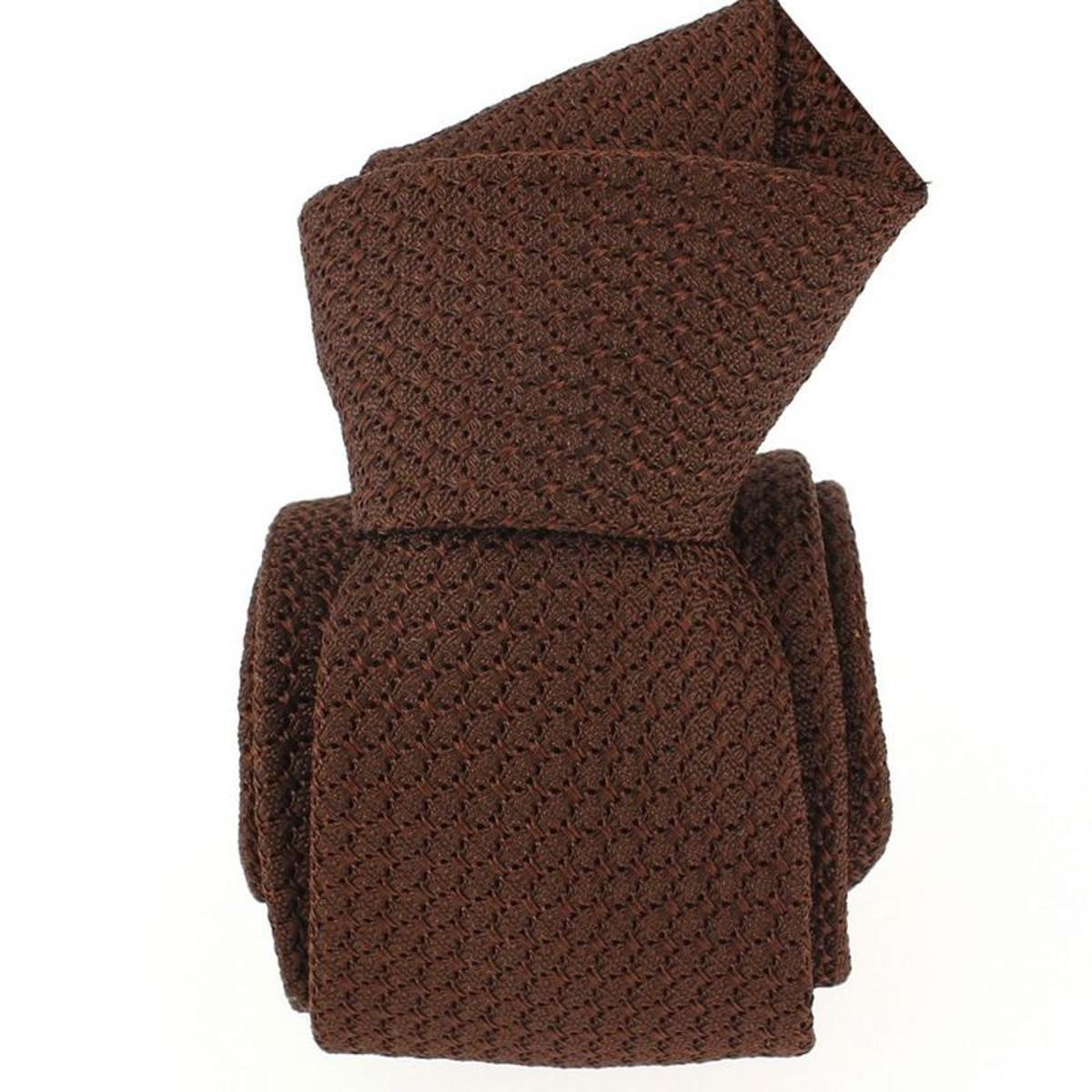 Cravate grenadine de soie soie premium