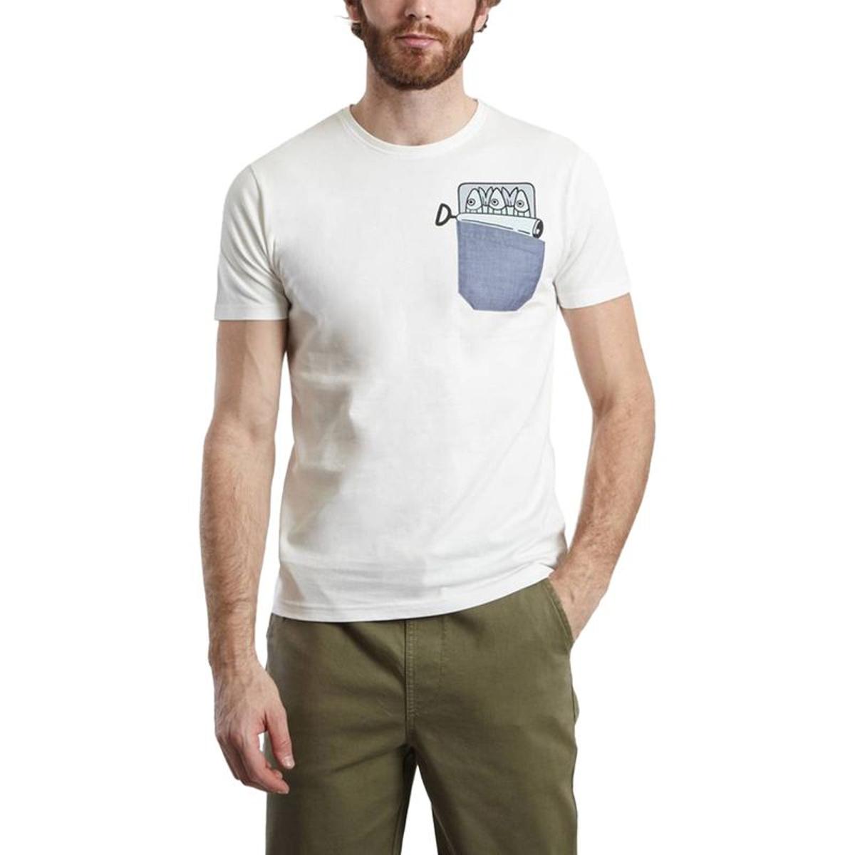 T Shirt Poche Sardine