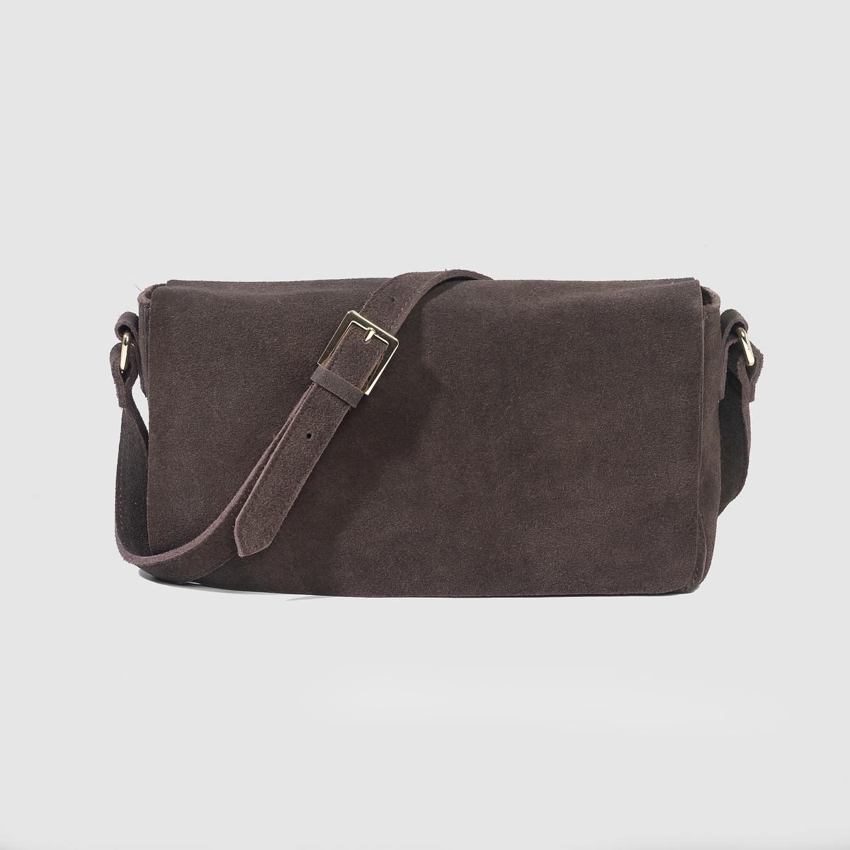 Сумка кожанаяПреимущества : эта сумка очень быстро займёт достойное место в вашем гардеробе и жизни, сопровождая вас на плече.<br><br>Цвет: каштановый<br>Размер: единый размер